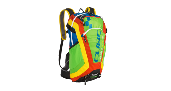 Cube Freeride 20+ Rucksack multicolor